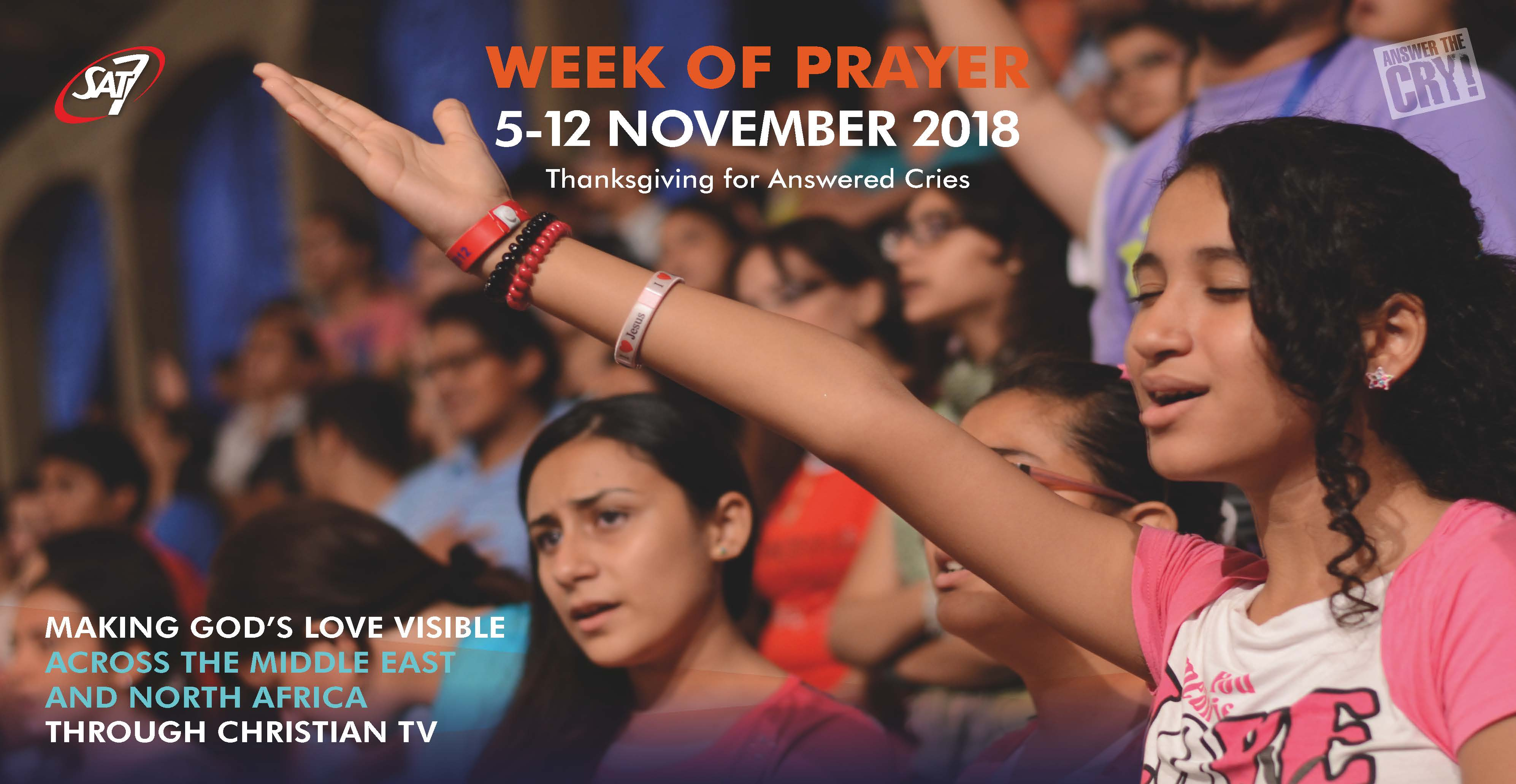 Week of Prayer » SAT-7 UK