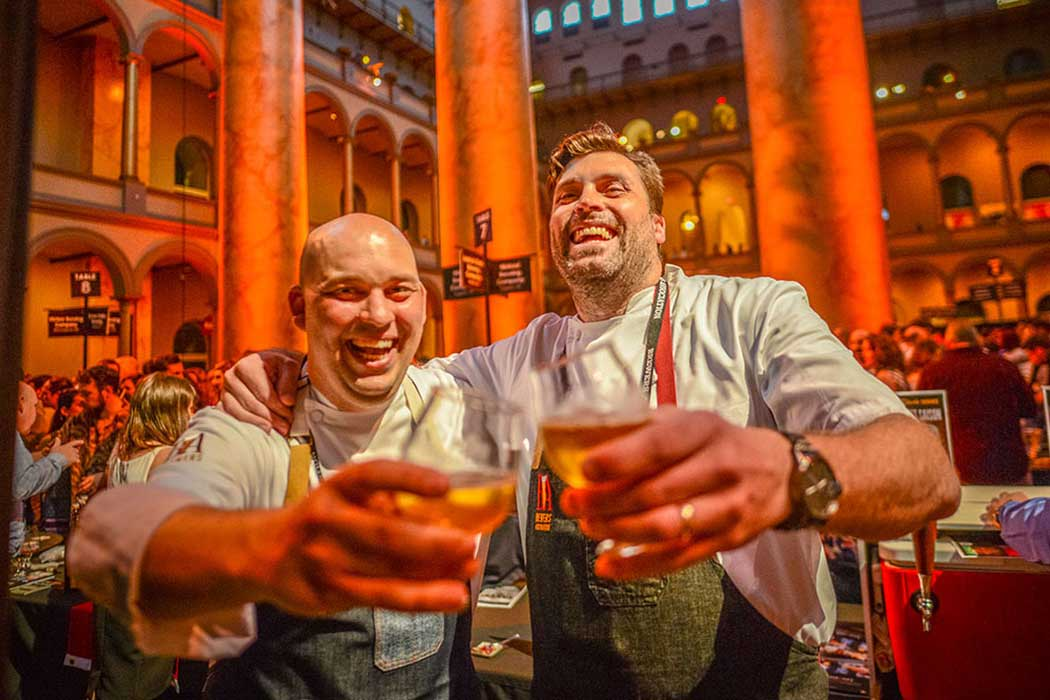 Chefs Adam and Kyle at SAVOR 2016