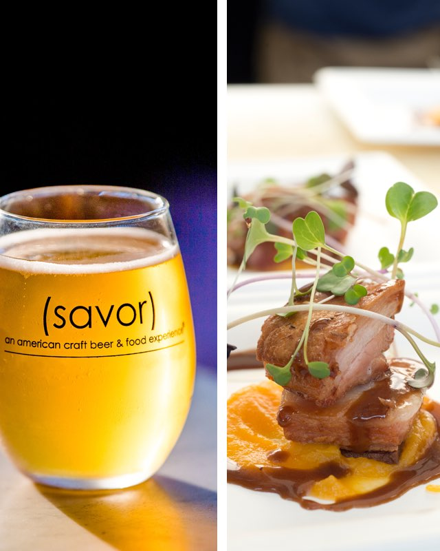 SAVOR food and beer pairing