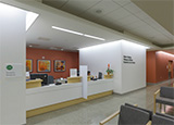 Registration/Waiting Area for Nuclear Medicine, Pulmonary Medicine, Respiratory Care Services