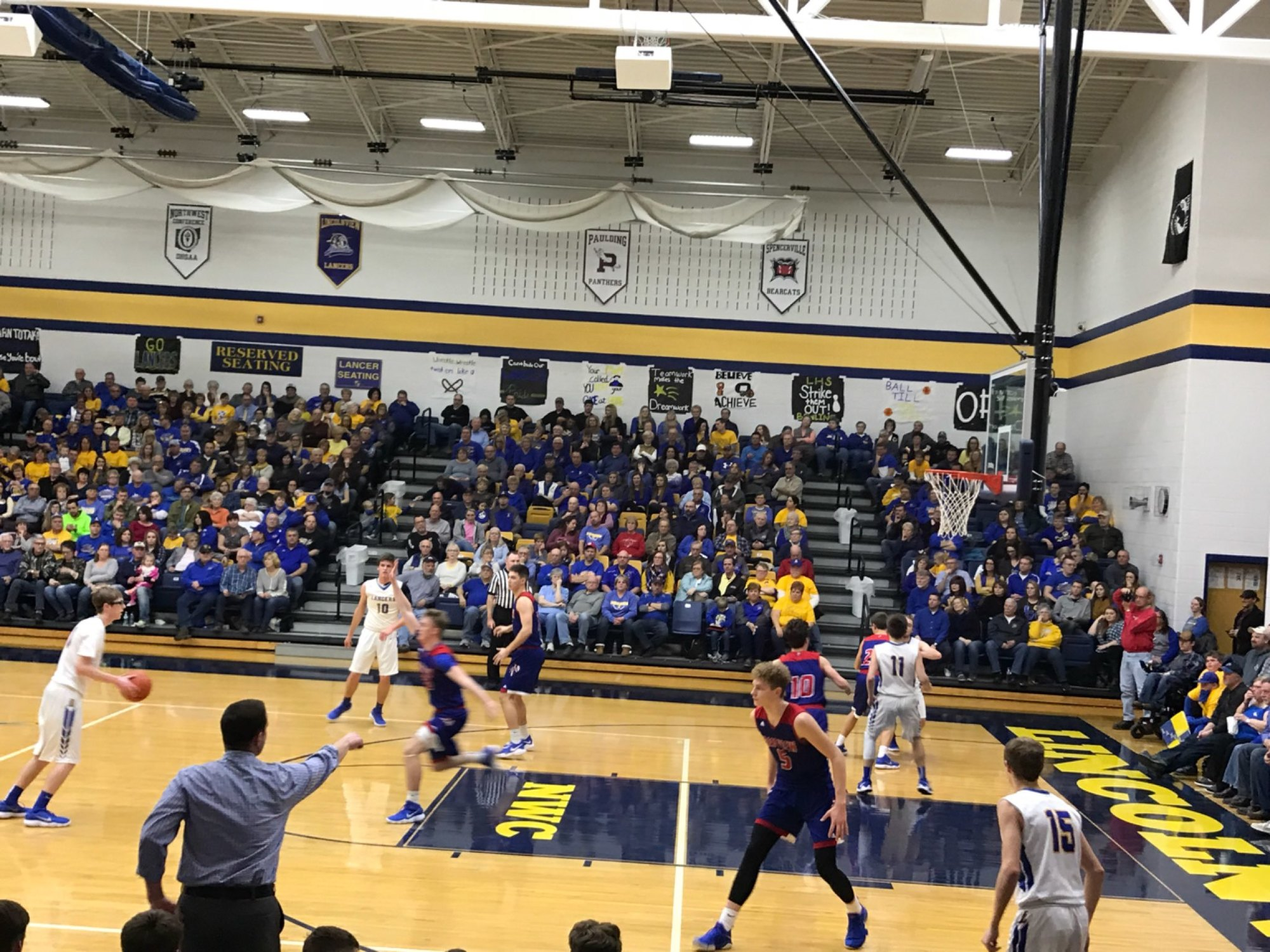 The Crestview Knights Defeat The Lincolnview Lancers 59 To 46