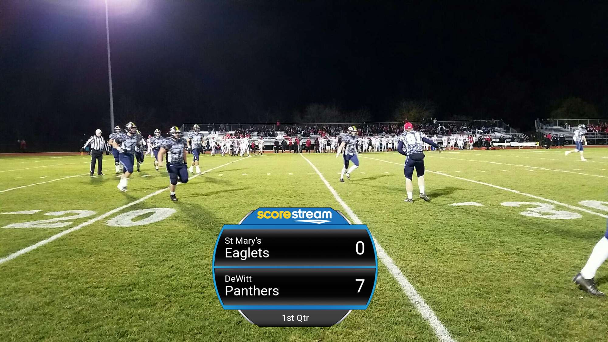 The St Mary S Eaglets Defeat The Dewitt Panthers 35 To 28 Scorestream
