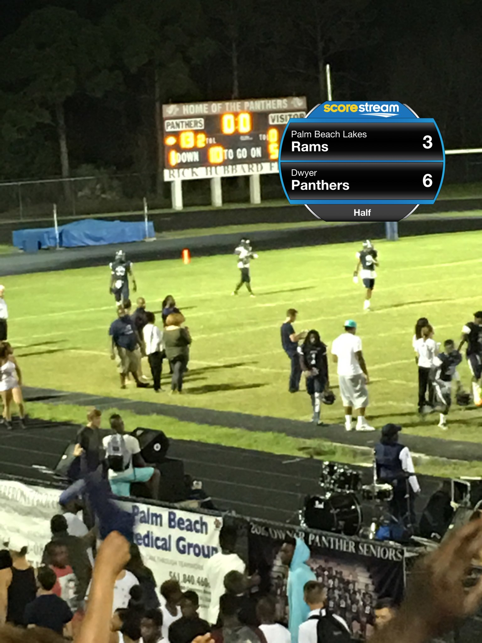 The Dwyer Panthers Defeat The Palm Beach Lakes Rams 40 To