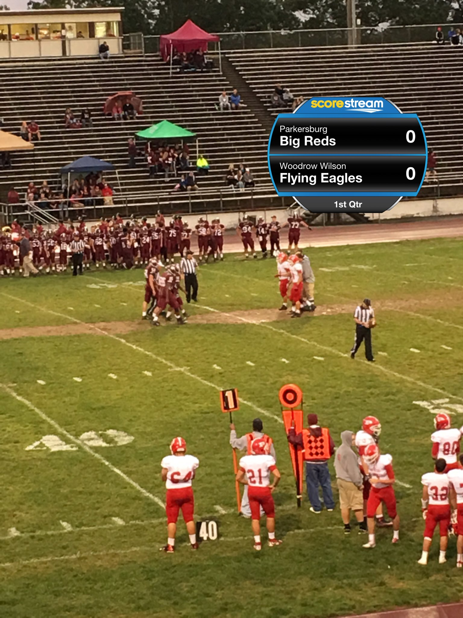 How can you access WV high school football scores?
