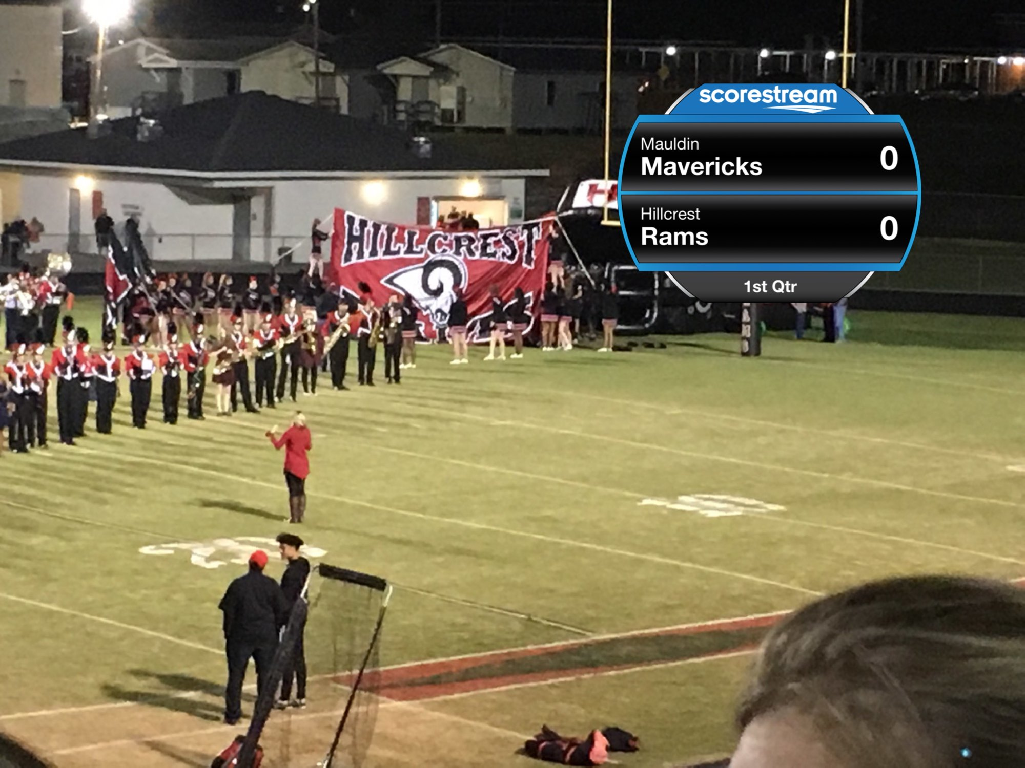 the mauldin mavericks vs the hillcrest rams scorestream