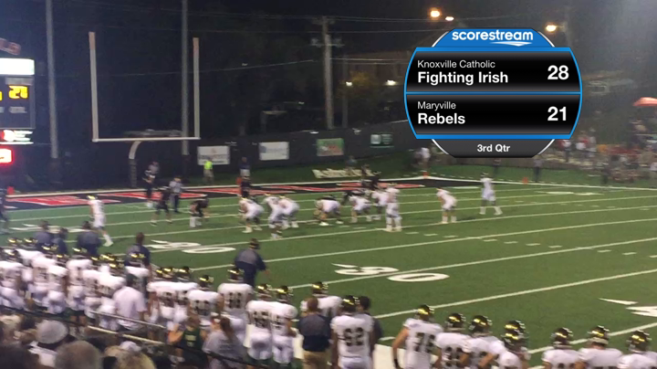 The Maryville Rebels Defeat The Knoxville Catholic Fighting Irish 49