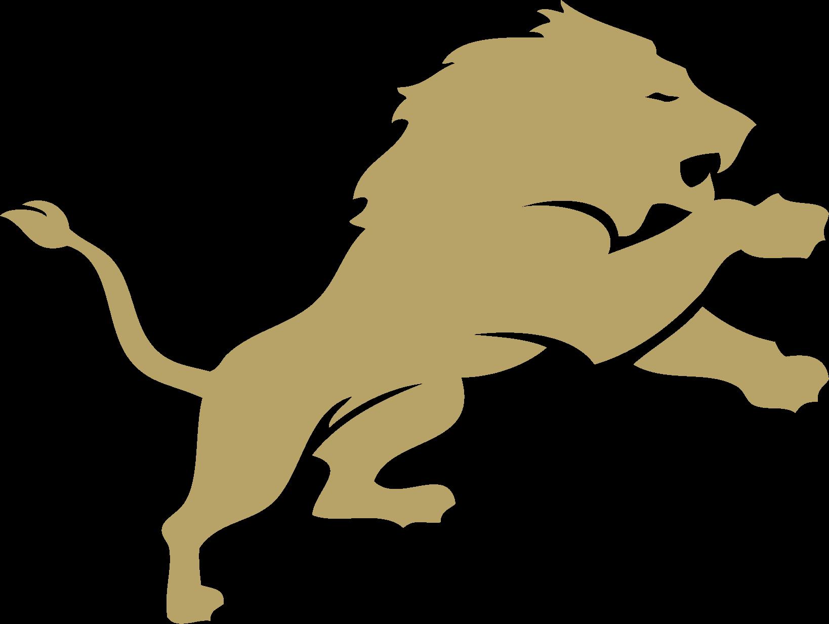 Pope John Lions logo