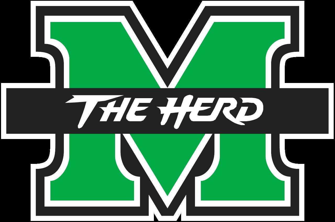 NCAA Marshall Thundering Herd Logo Pin