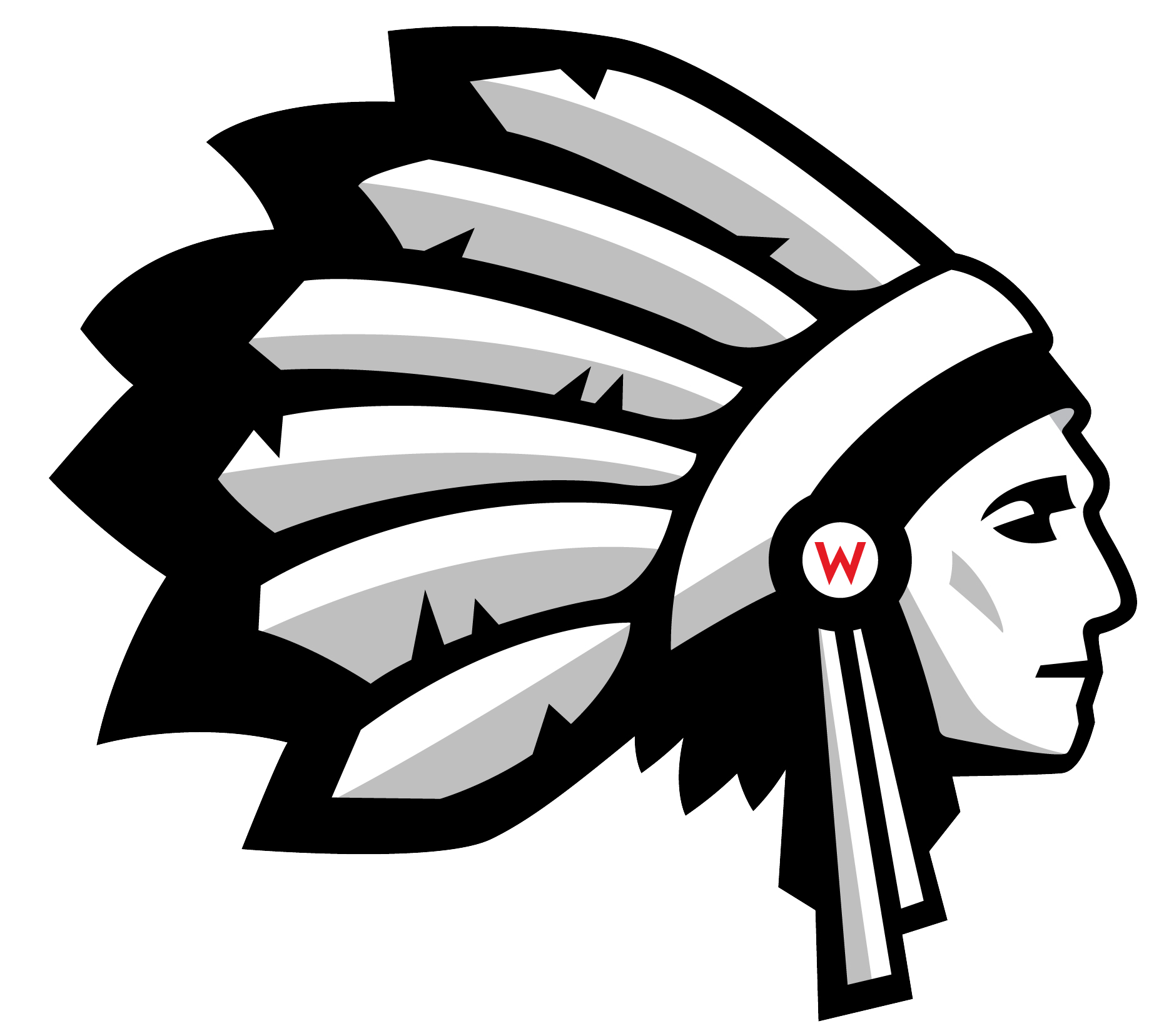 Image result for wapakoneta redskins logo