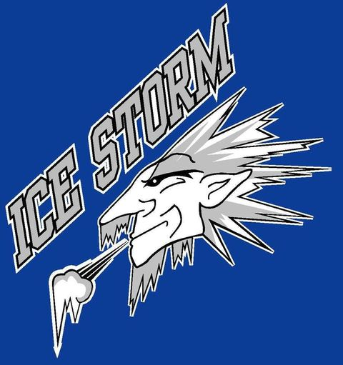 Northwood Ice Storm Bantam mascot