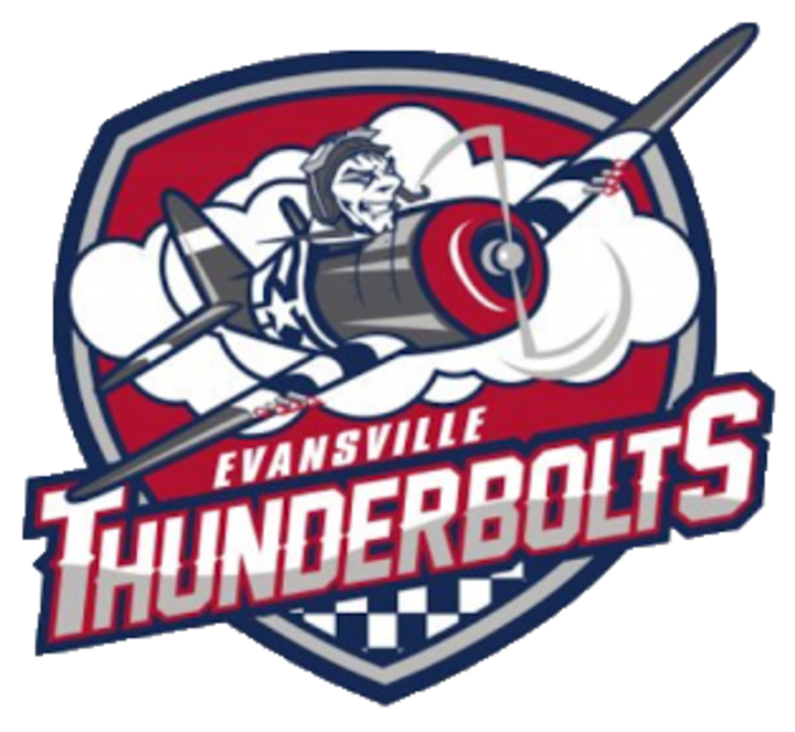 Evansville Jr. Thunderbolts mascot
