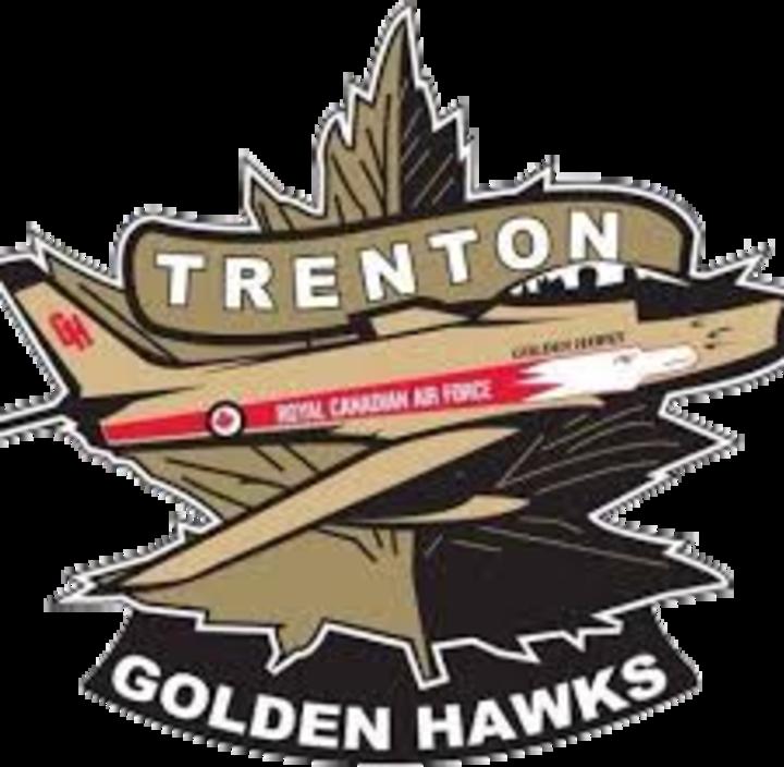 Trenton Golden Hawks mascot
