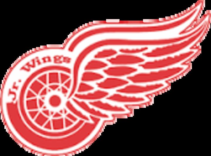 Detroit Jr Red Wings mascot