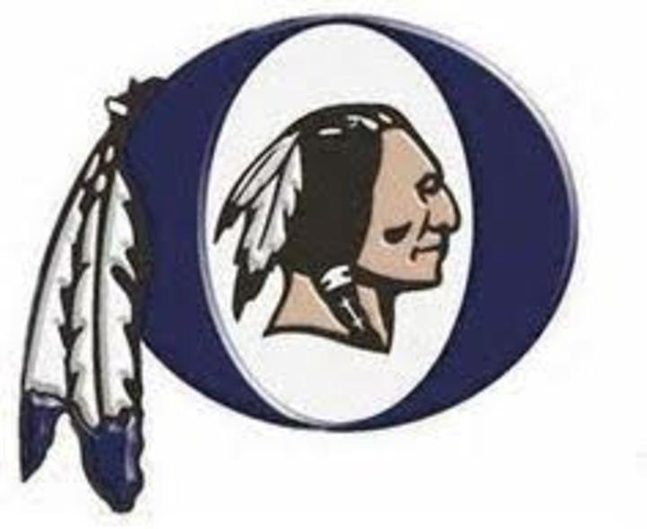 Oneonta Redskins mascot