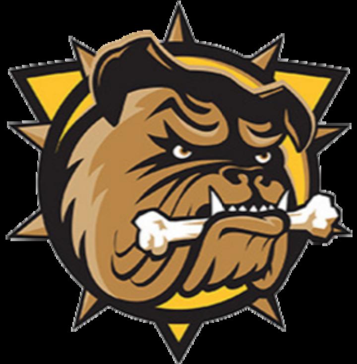 Hamilton Bulldogs mascot