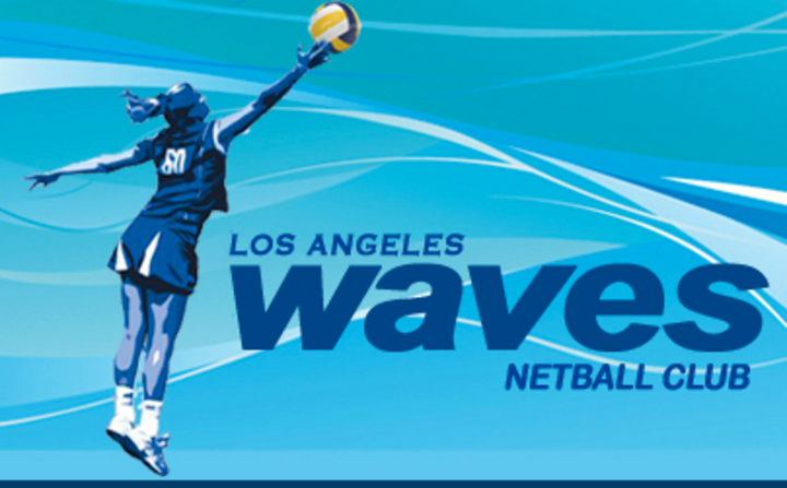 LA Waves Surf mascot