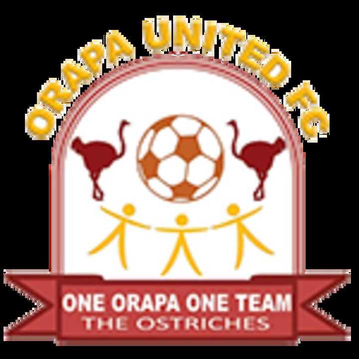 Orapa United mascot