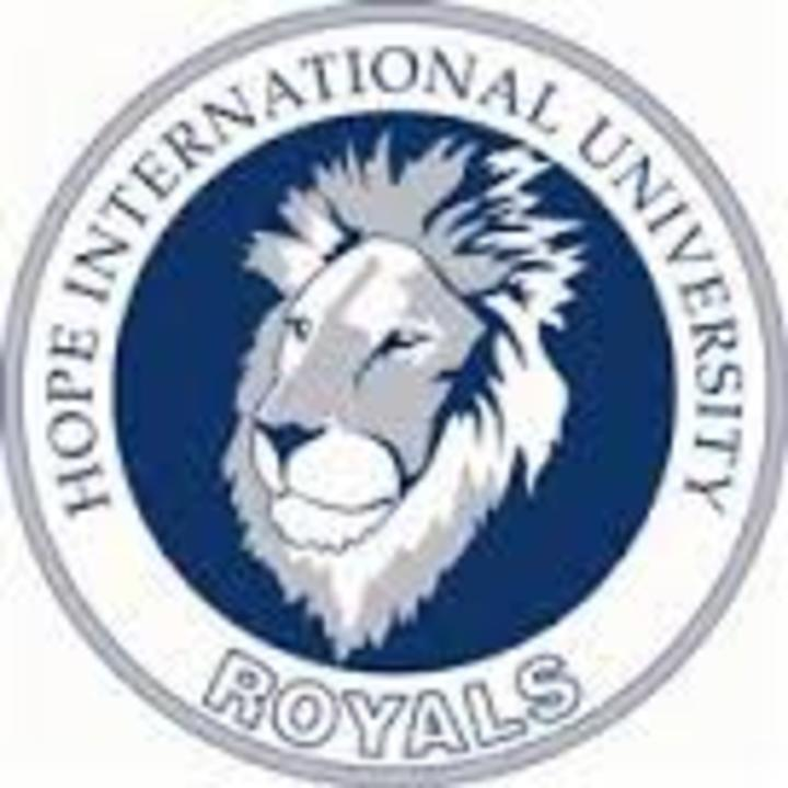 Hope International University mascot