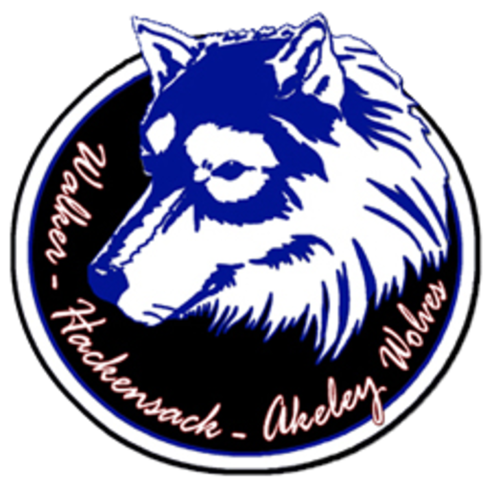 Walker-Hackensack-Akeley mascot
