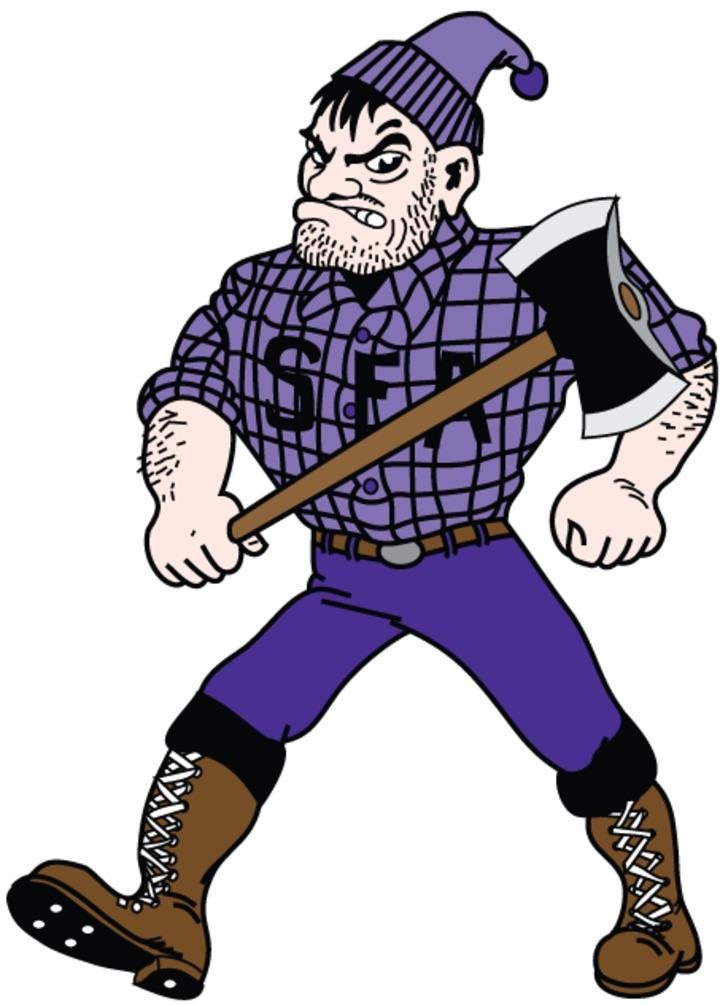 Stephen F. Austin State University mascot