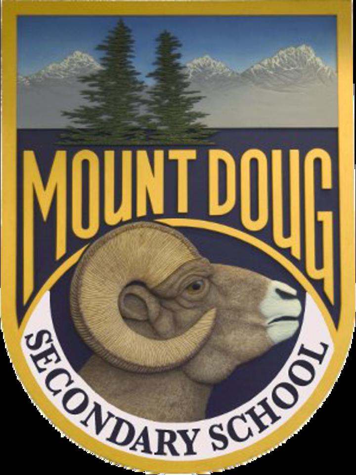 Mt Douglas Secondary mascot