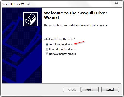 Installing A Seagull Driver For A Usb Printer Bartender Support