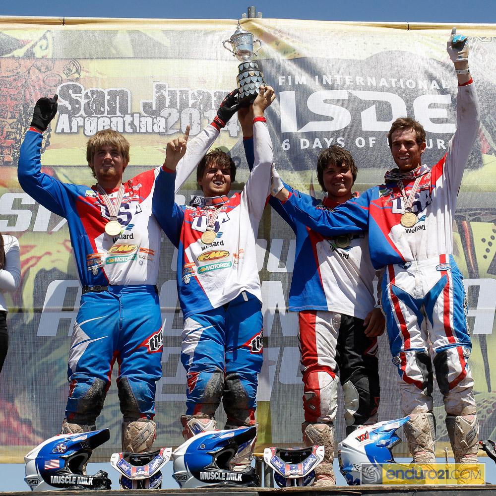 usa junior trophy_ISDE 2014_6889