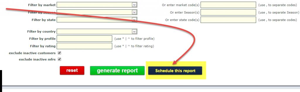 schedule report1