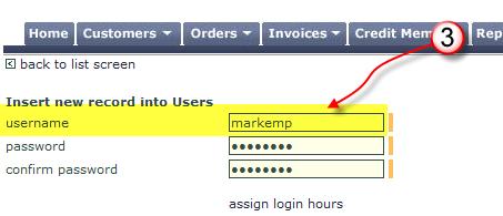 Username Field
