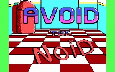 Classic Pc Game Avoid The Noid