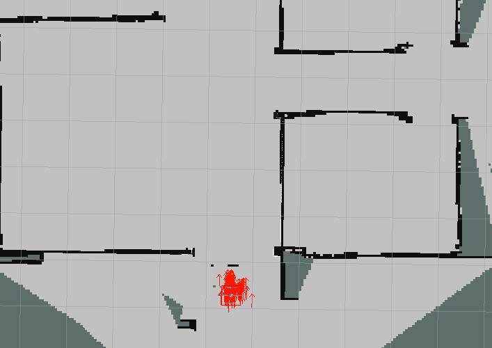 ROS Integration - Quadrotor 2D Mapping & Navigation