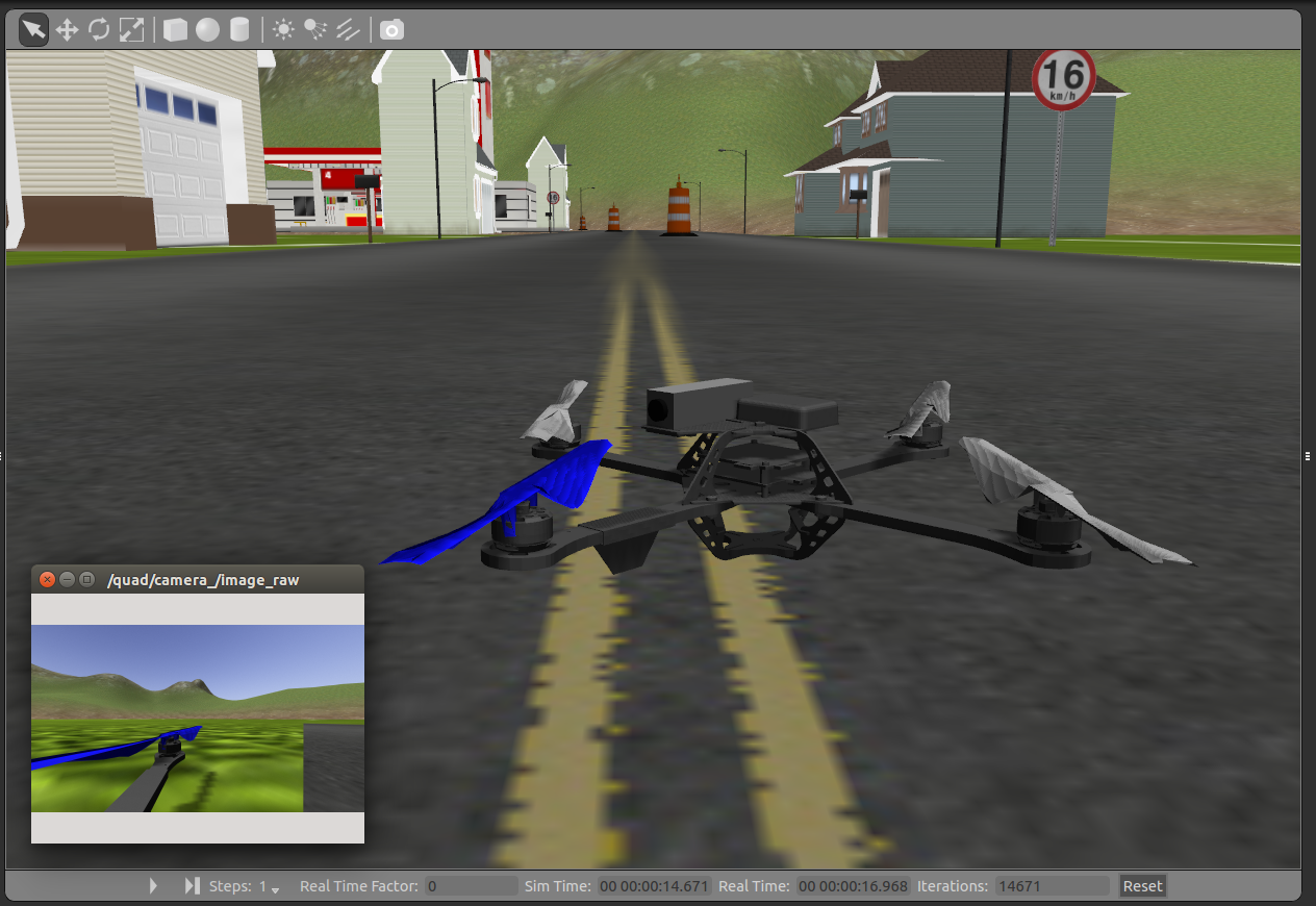 ROS Integration - Using ROS for Autonomous Quadrotor Research