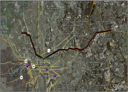 Wil Selby USNA Thesis Obstacle Scenario Route 2