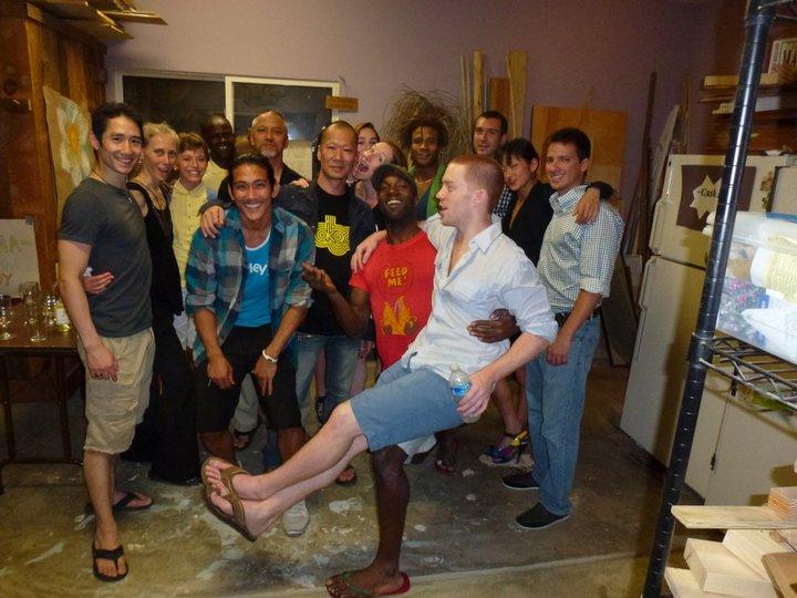 Pilobolus Dance Company Group Photo