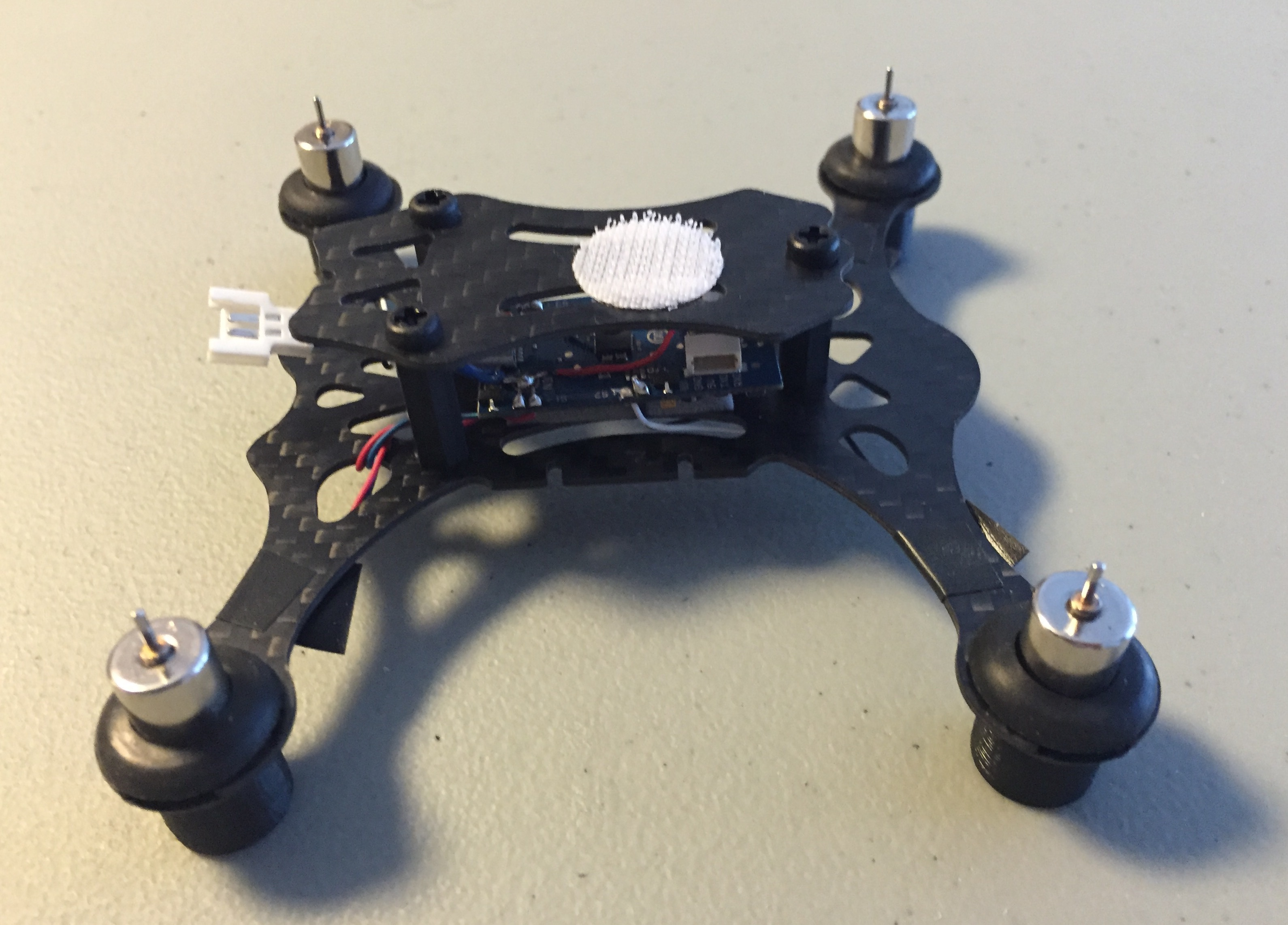 Quadrotor FPV Build Top Deck Installation