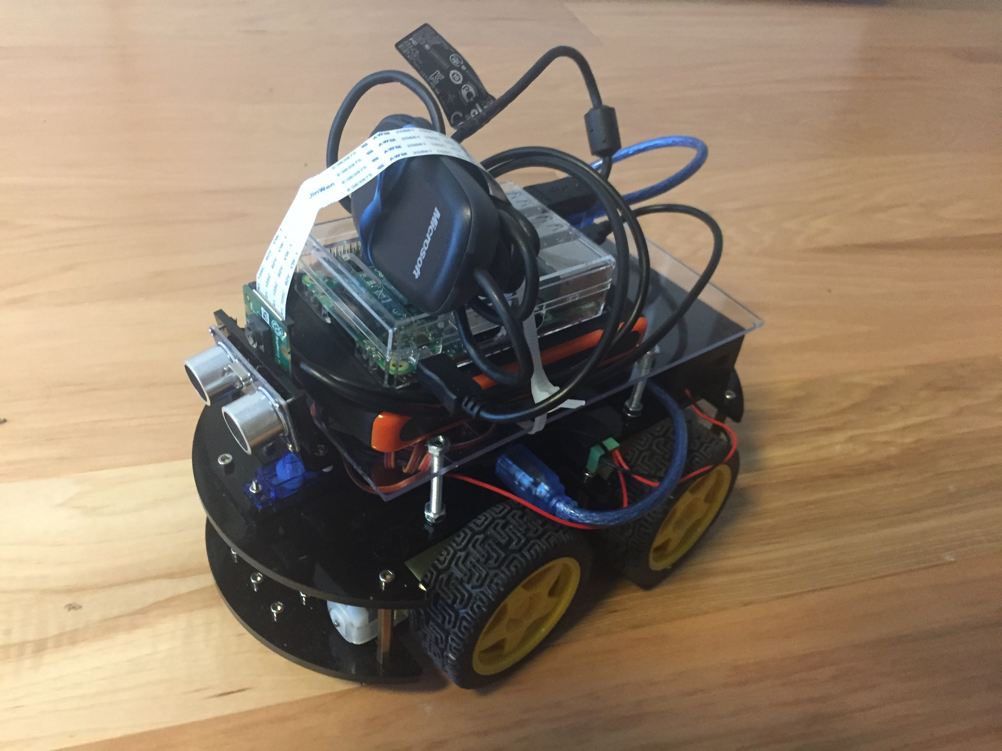 DIY Autonomous Vehicle Elegoo RaspberryPi3 Assembly