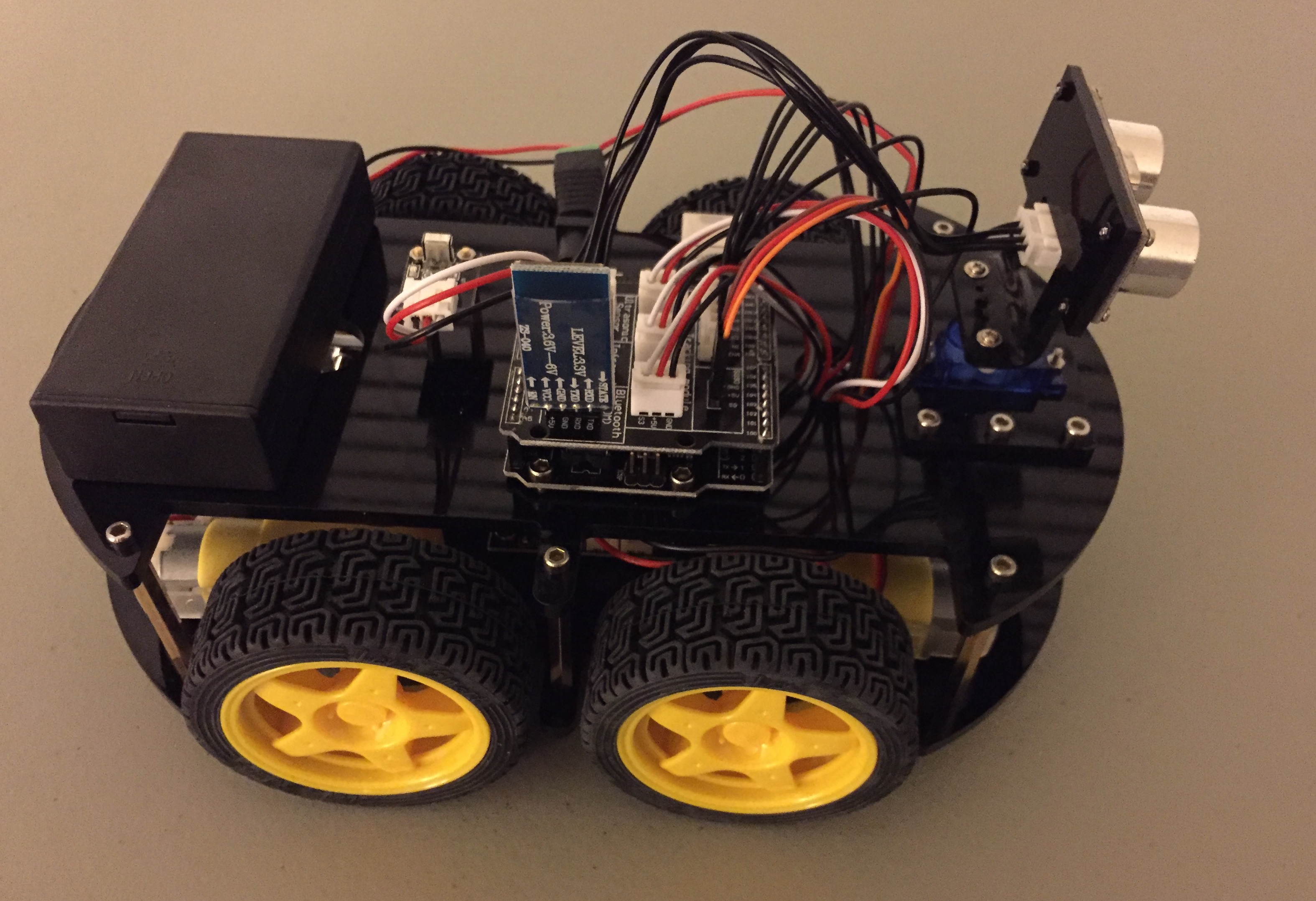 DIY Autonomous Vehicle Elegoo Construction