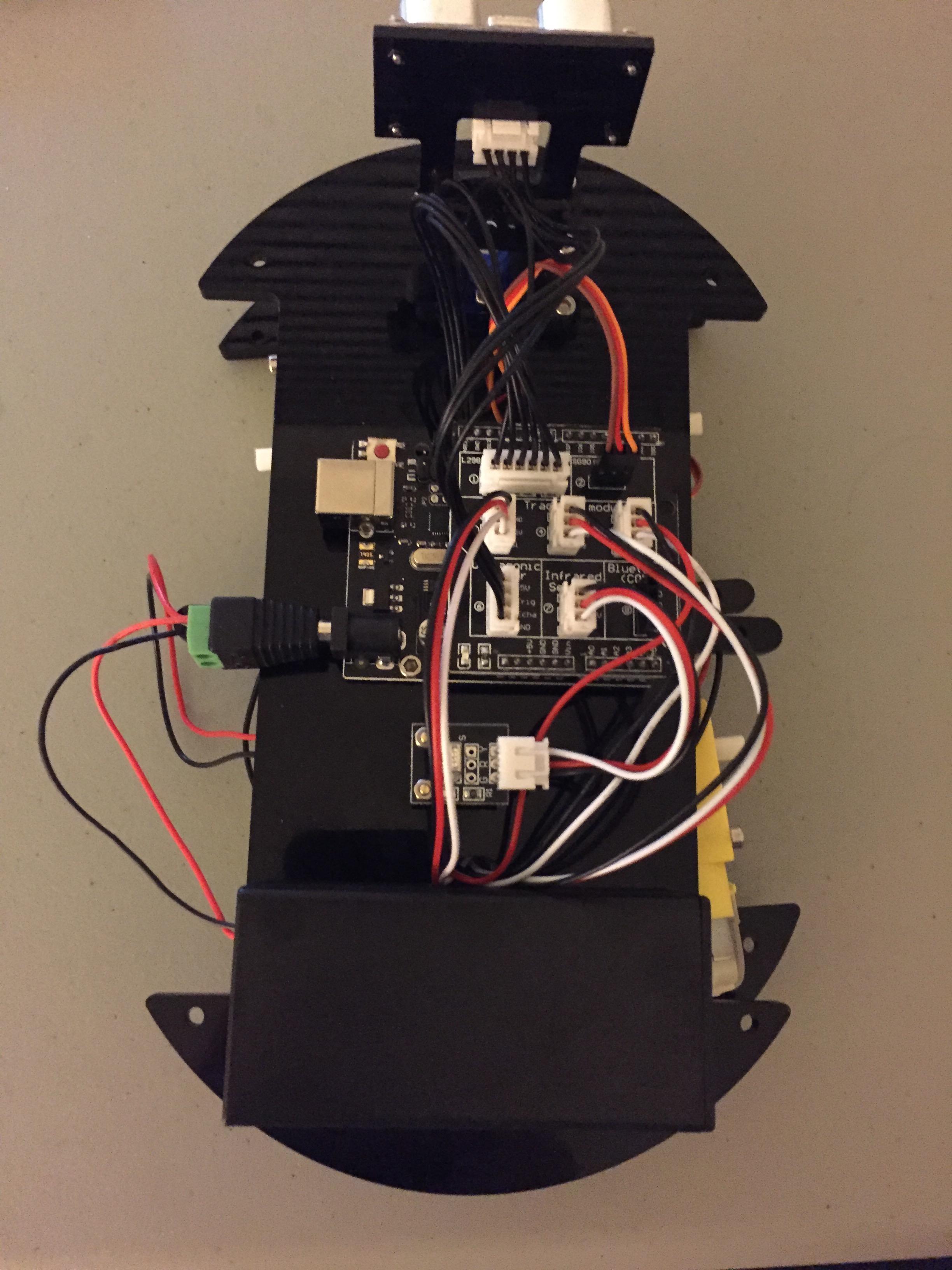 Elegoo Autonomous Vehicle Sensors Assembly