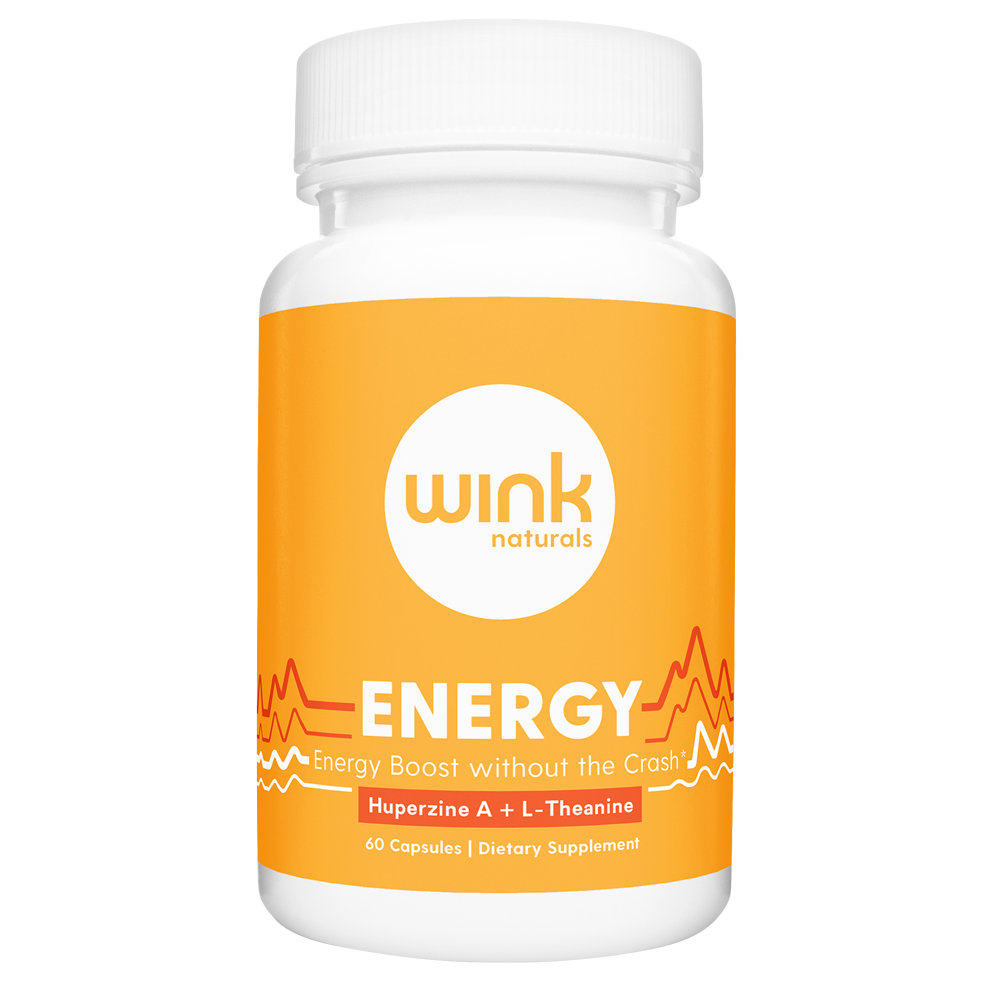 energy tablets from wink naturals