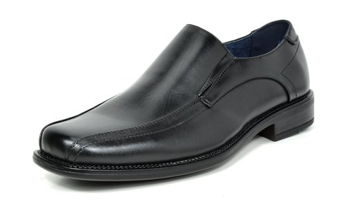 14b1f67cb4f Bruno Marc Men s State-01 Black Leather Lined Dress Loafers Shoes ...