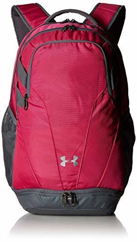 11230b3b4d Details about Under Armour Team Hustle 3.0 Backpack, Tropic Pink/Silver,  One Size Fits All