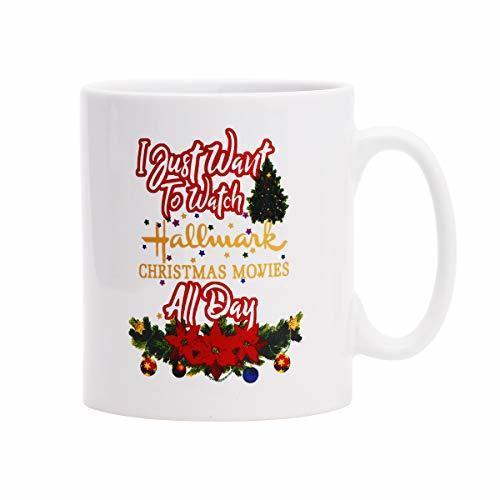 15f14ca6f89 Coffee Mug This Is My Hallmark Christmas Movie Watching Mug Tea Cup Ceramic  Coffee Mug for Christmas Gift Brithday Gift or Daily Use