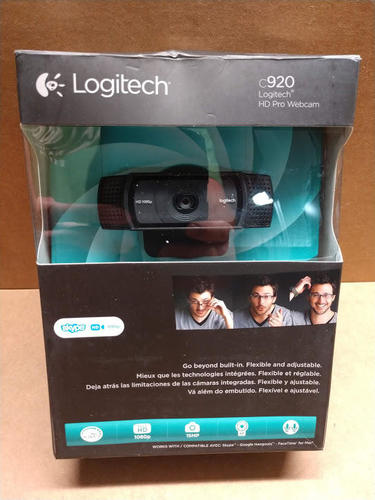 Details about Logitech HD Pro Webcam C920, Widescreen Video Calling and  Recording, 1080p Cam
