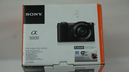 Sony Alpha a5000 Mirrorless Digital Camera (Black) UVG