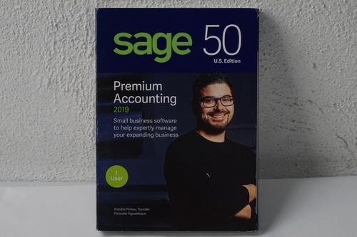 Sage 50 Premium Accounting 2019 – 1 User - Used