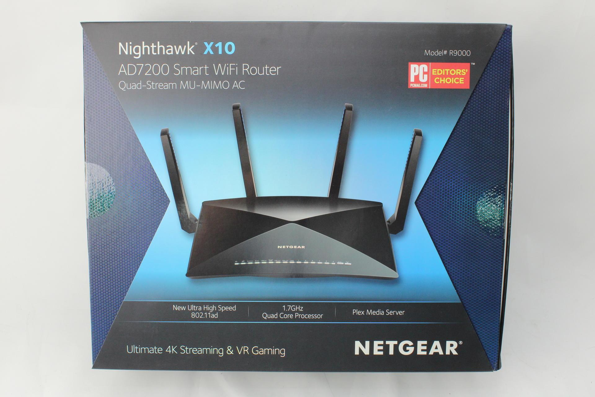 NETGEAR Nighthawk X10 Smart WiFi Router (R9000) Wireless