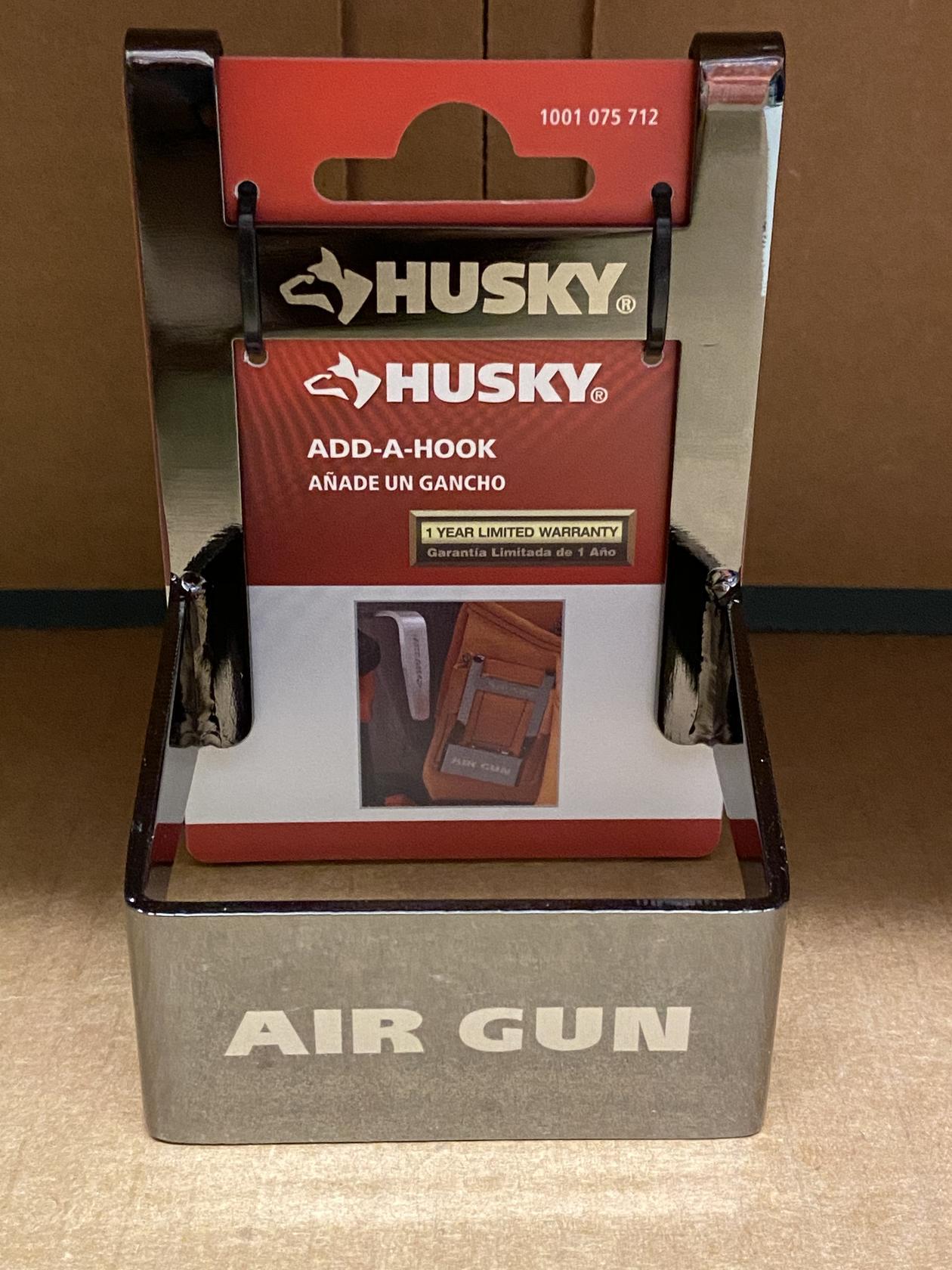 Husky Add-A-Hook Model 1001 075 712Air Gun Holder