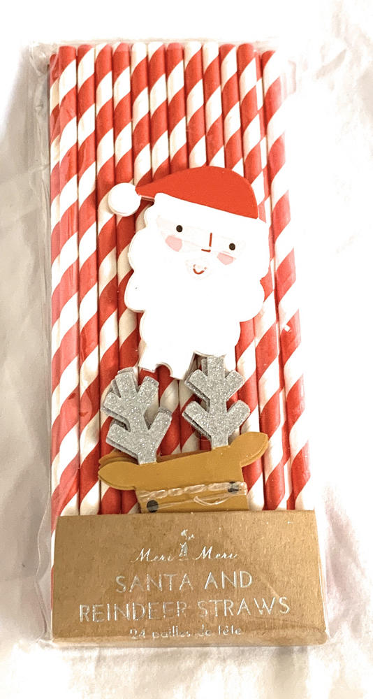 Meri Meri Christmas Straws 2 packs