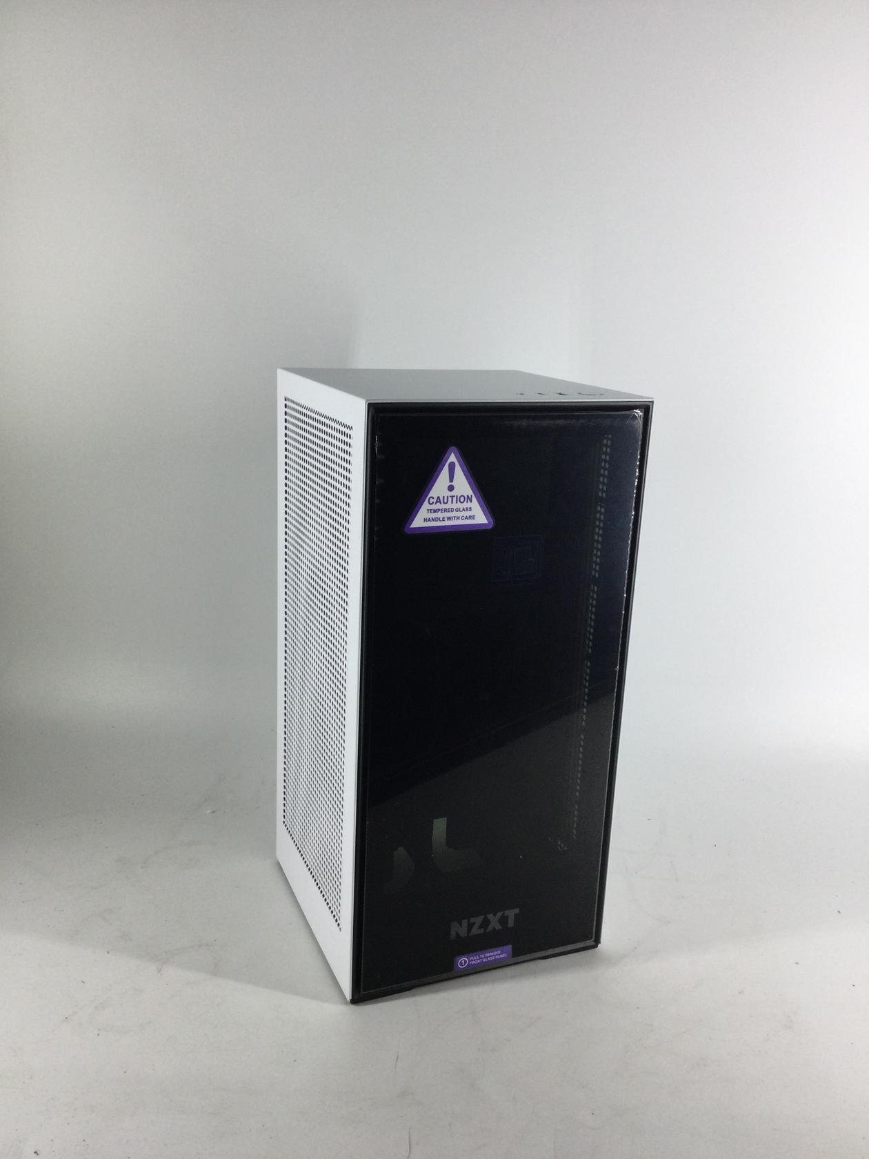 NZXT H1 CA-H16WR-W1-US  SGCC Steel / Tempered Glass Mini-ITX Computer