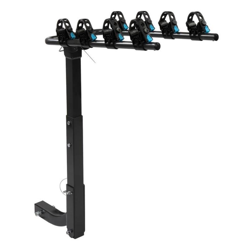 4 Bike Rack, with 2 Hitch Receiver, for Car Truck SUV Minivan